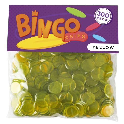 300 Pack Yellow Bingo Chips
