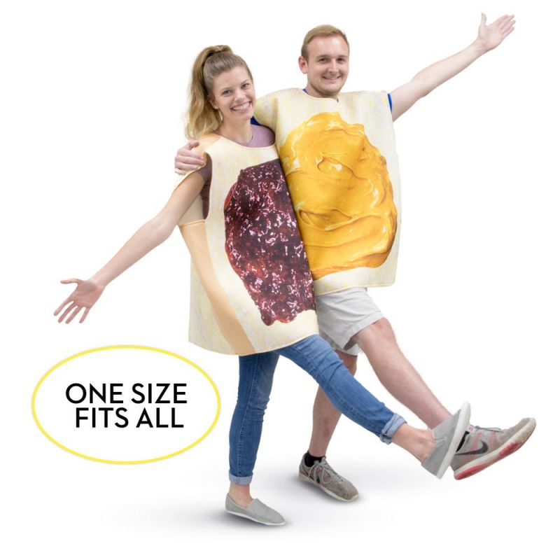 Peanut Butter And Jelly Adult Costume