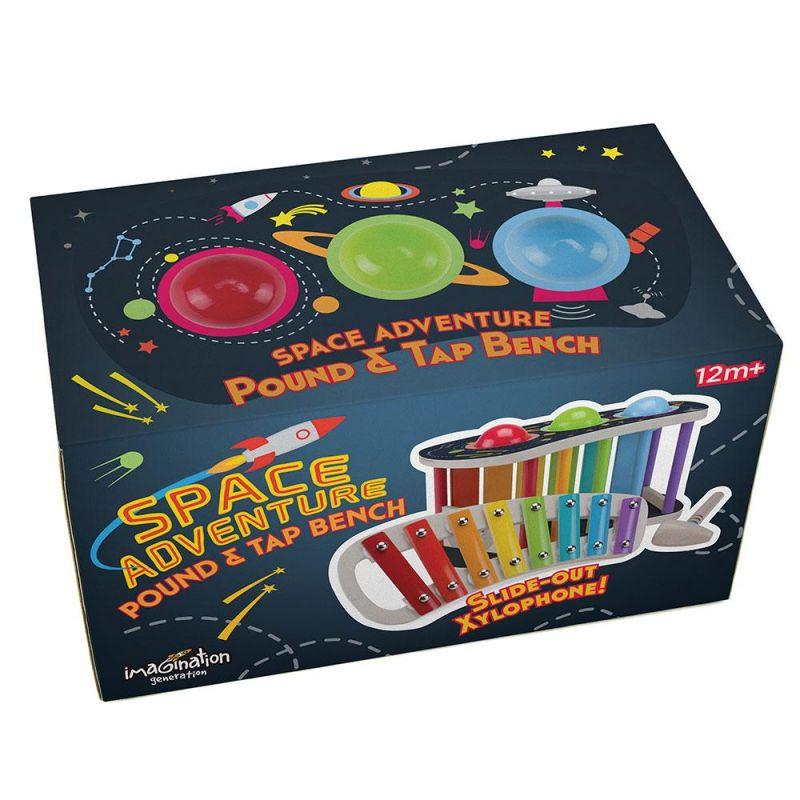 Space Adventure Pound & Tap Bench