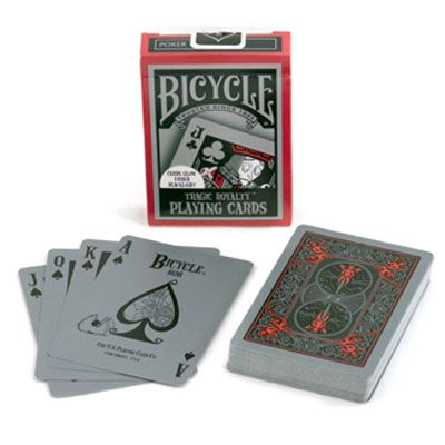 Tragic Royalty - Bicycle Playing Cards