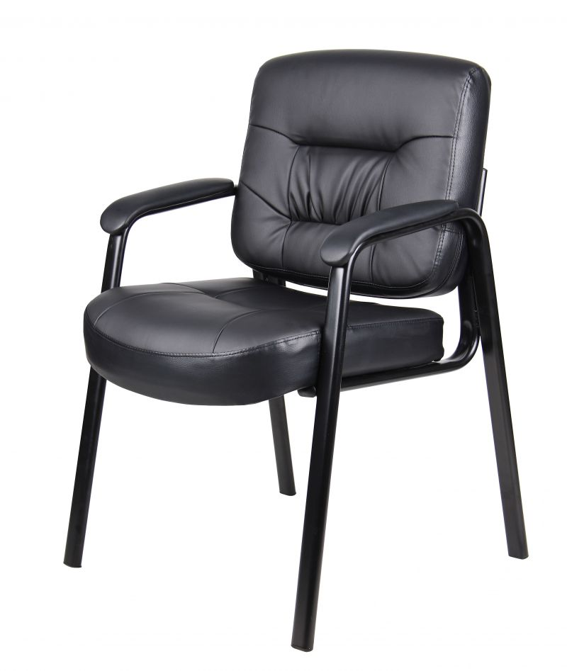 Boss Executive Mid Back Leatherplus Guest Chair