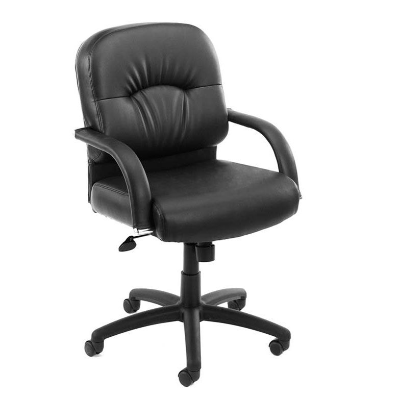Boss Mid Back Caressoft™ Chair In Black