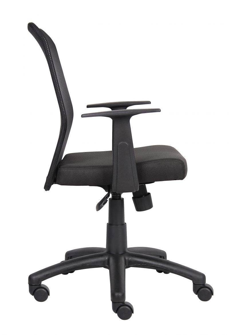 Boss Budget Mesh Task Chair W/ T-Arms