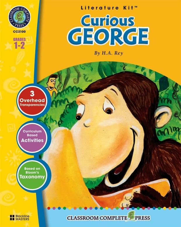 Classroom Complete Regular Education Literature Kit: Curious George, Grades - 1, 2