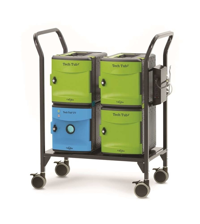 Copernicus Tech Tub2 Modular Cart With UV Tub – Charges 18 Devices