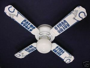 Ceiling Fan Designers NFL Indianapolis Colts Fan/Blades
