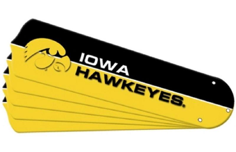 """New Ncaa Iowa Hawkeyes 42"""" Ceiling Fan"""