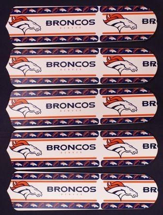 Ceiling Fan Designers NFL Denver Broncos Fan/Blades