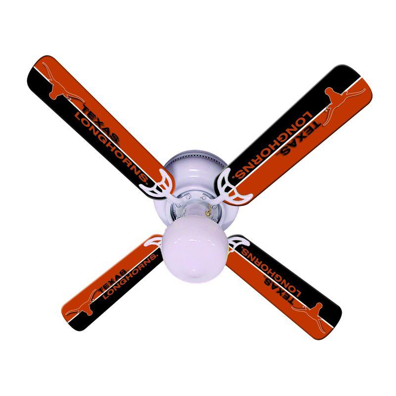 """New Ncaa Texas Longhorns 42"""" Ceiling Fan"""