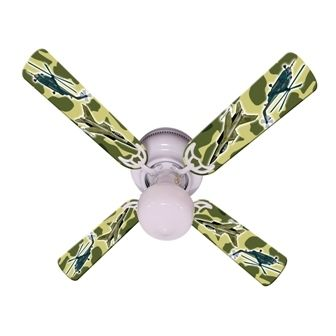 """New Freedom Camo Military Ceiling Fan 42"""""""
