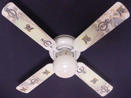 Ceiling Fan Designers MLB Milwaukee Brewers Fan/Blades