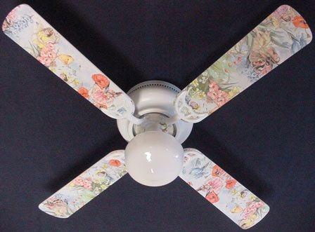 """New Magical Fairy Fairies Ceiling Fan 42"""""""