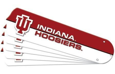 "New Ncaa Indiana Hoosiers 52"" Ceiling Fan Blade Set"