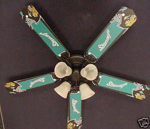 Ceiling Fan Designers NFL Jacksonville Jaguars Fan/Blades