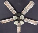"""New Deer Buck Doe Hunting Ceiling Fan 52"""""""