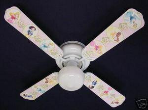 Ceiling Fan Designers Disney Princesses Fan