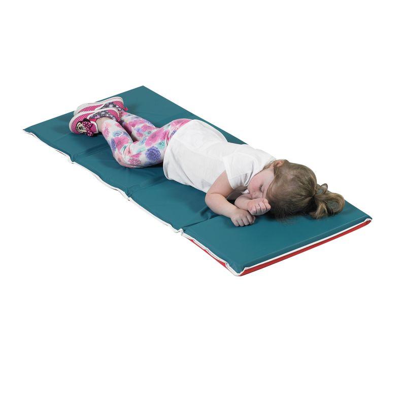 Pillow Rest Mat – Red/green
