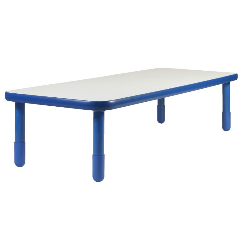 Baseline® 72″ X 30″ Rectangular Table – Royal Blue With 18″ Legs