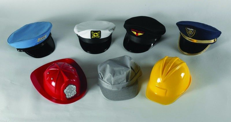 Go To Work Hats – Set Of 7