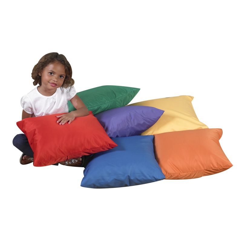 Cuddle-ups® 17″ Cozy Pillows – Primary Set Of 6