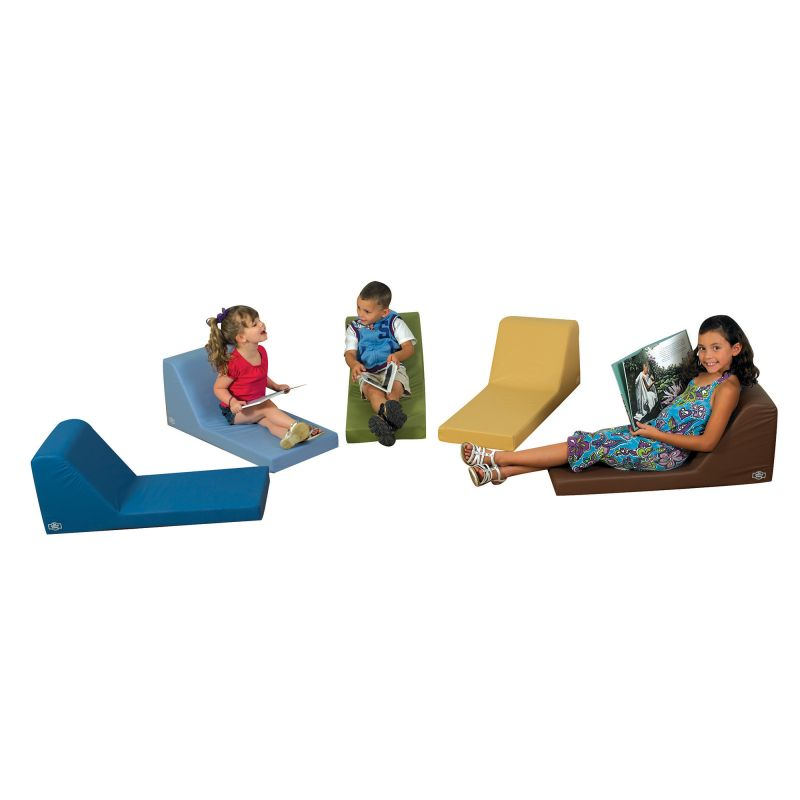 Cozy Woodland Loungers – Set Of 5