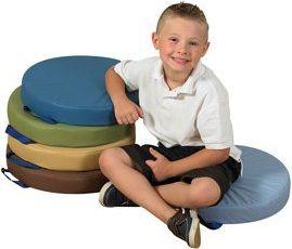 15″ Round Cushions – Woodland Set Of 5