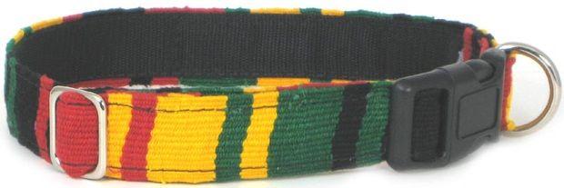 Color Pet™ Maya Rasta Collar: Large