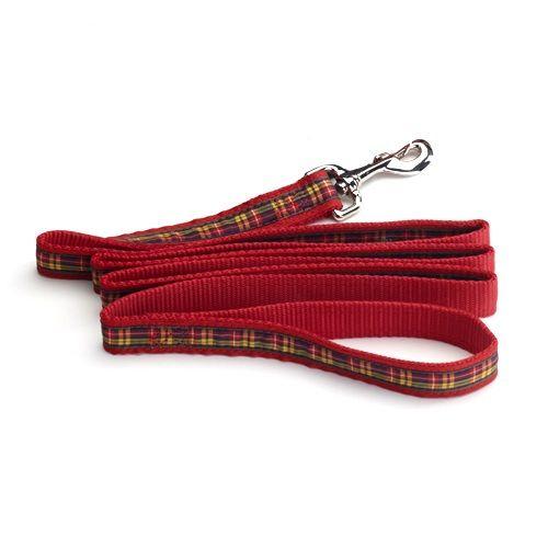 Color Pet™ Casey & Eddy Natural/Royal Leash: Large