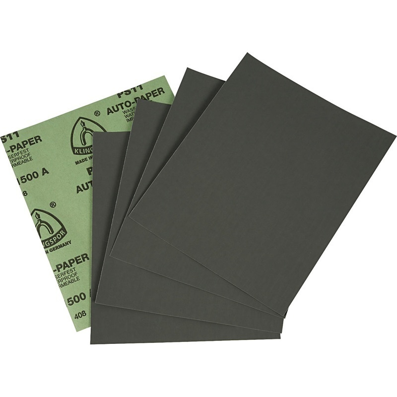 Creativ Company Wet And Dry Sandpaper, 5 Sheet, 1 Pack