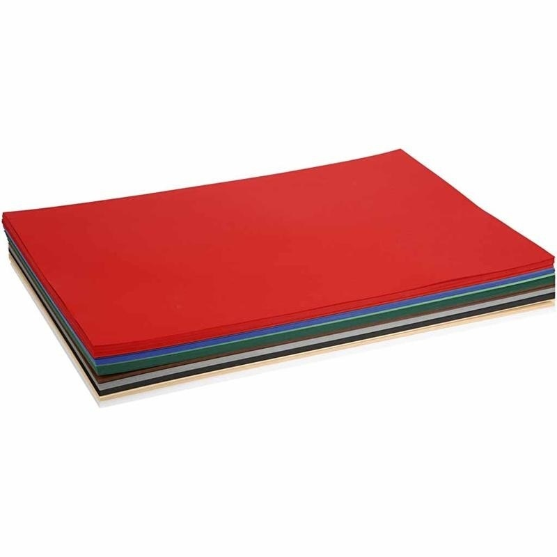 Colortime Christmas Card, Assorted Colours, A2, 420x600 Mm, 180 G, 300 Ass Sheets