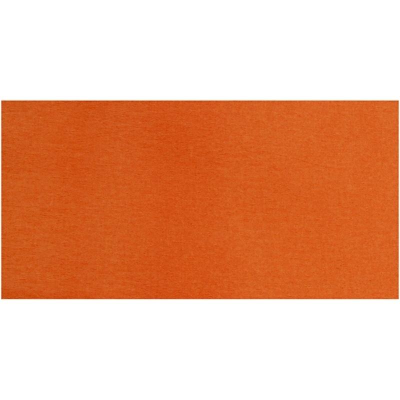 Creativ Company Crepe Paper, Orange, 50x250 Cm, 10 Pleats