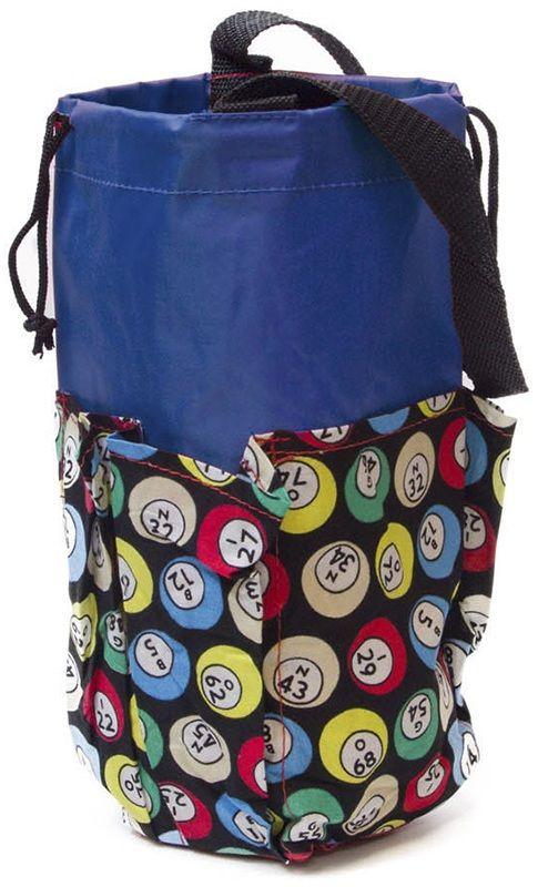 6 Pocket Mini Bingo Ball Designer Bag