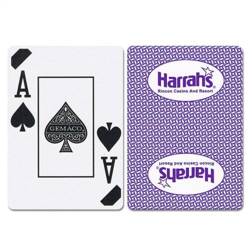 Harrahs Rincon New Uncancelled Casino Playing Cards
