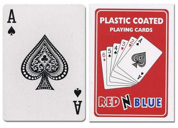 Casino Supply Plastic Coated Playing Cards