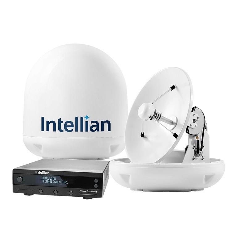"""Intellian I4 Us System 18"""" W/all Americas Lnb"""