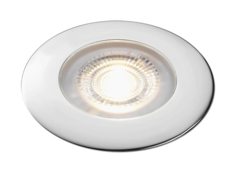 Aqua Signal Atlanta Led Downlight - Warm White Led W/chrome Housing
