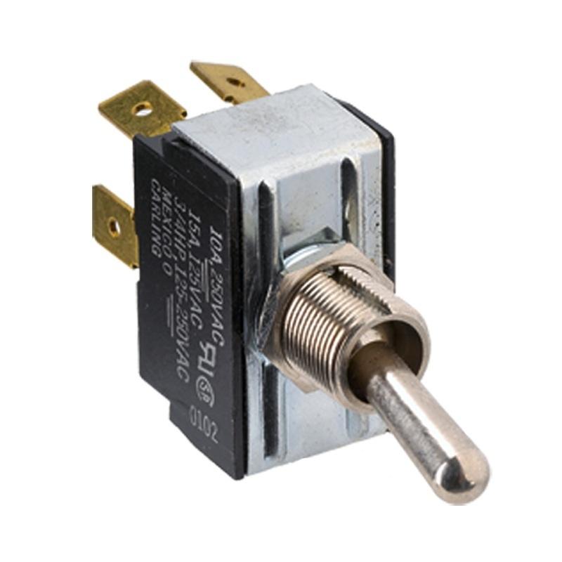 Paneltronics Dpst On/off Metal Bat Toggle Switch