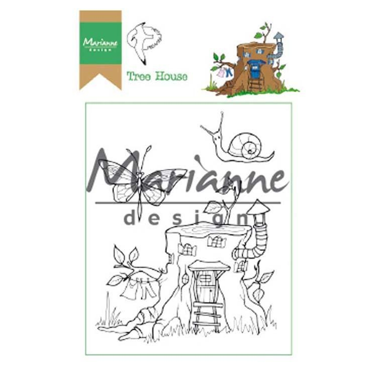 Marianne Design Stamps Hetty's Tree House