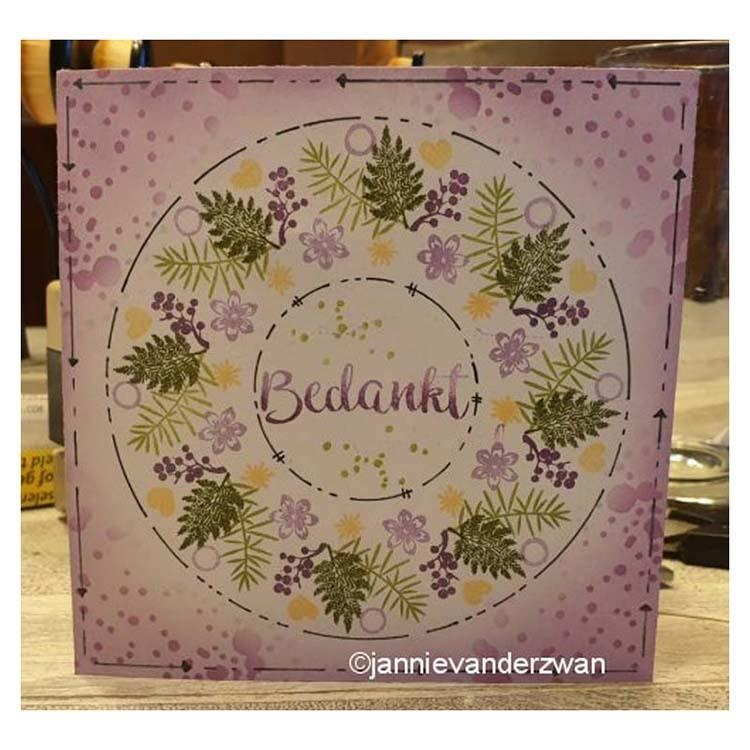 Nellie's Choice Clear Stamp Minis Hearts