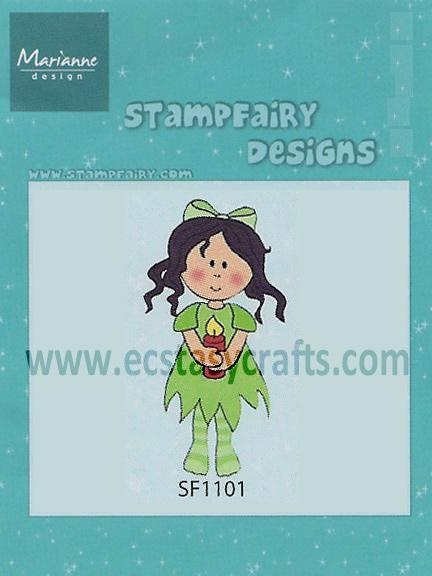 Stampfairy Cling Stamp - Betty Christmas