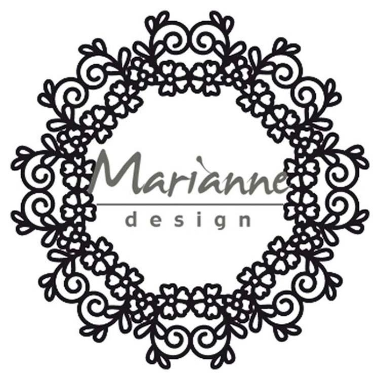 Marianne Design Craftables Floral Doily