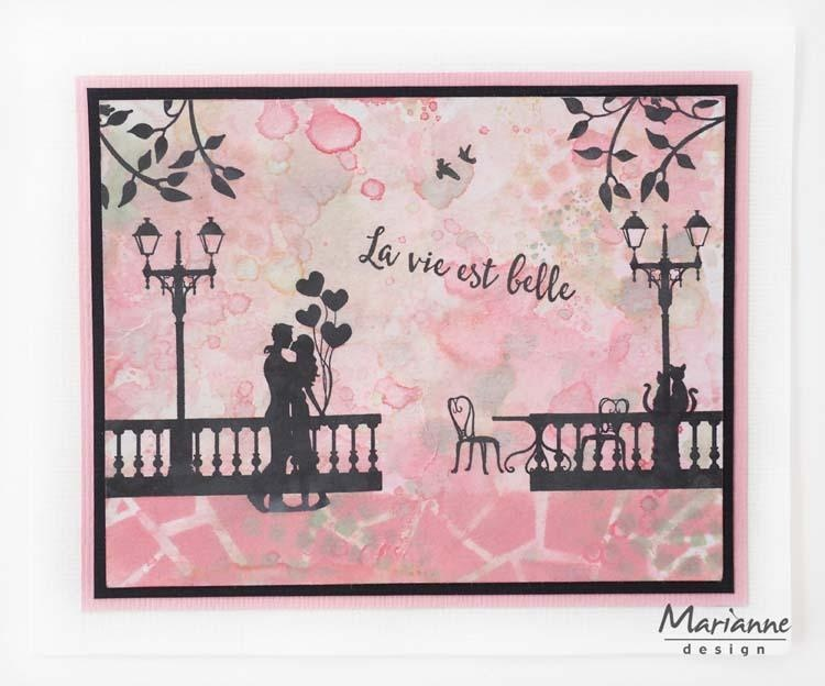 Marianne Design Clear Stamps Silhouette Paris