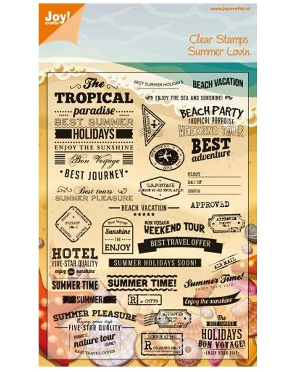Clear Stamp Tropical Summer