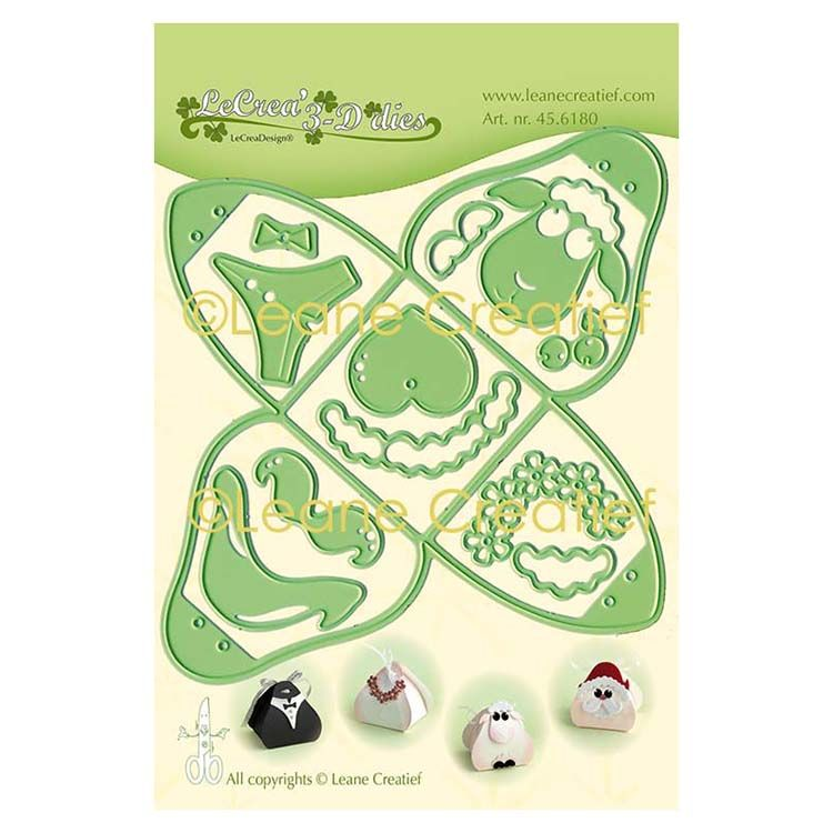 Leabilitie Small Box For Baby, Marriage, Christmas Cut And Embossing Die
