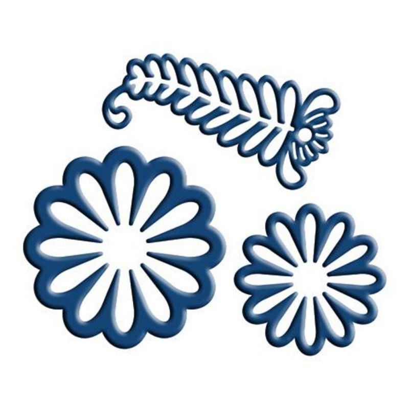 Tattered Lace Dies - Venetian Floral (3 Pc)