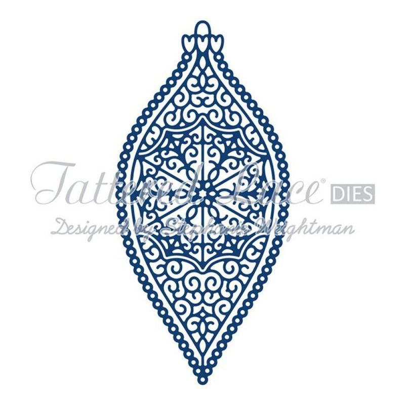 Tattered Lace Dies - Victorian Bauble