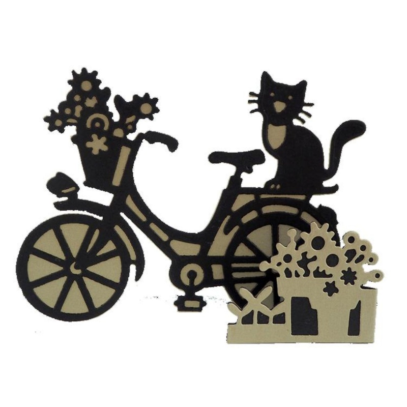 Creative Expressions Paper Cuts 3d Collection - Sitting Pretty