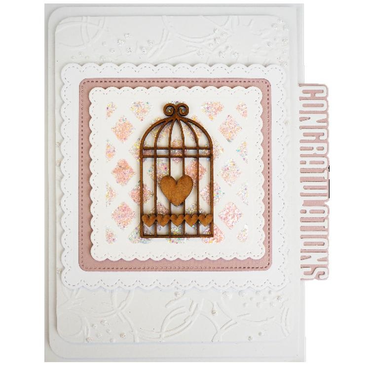 Creative Expressions 5 X 7 Embossing Folder Coffee Stains