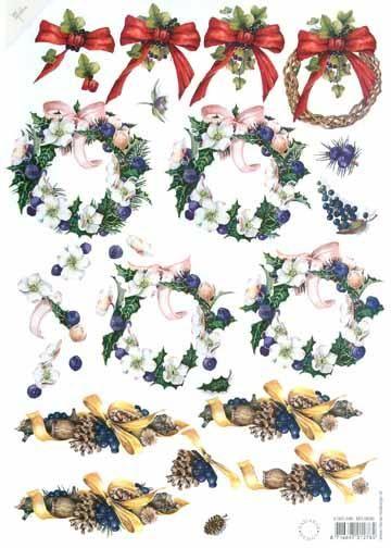 3-d Prints Wreathes