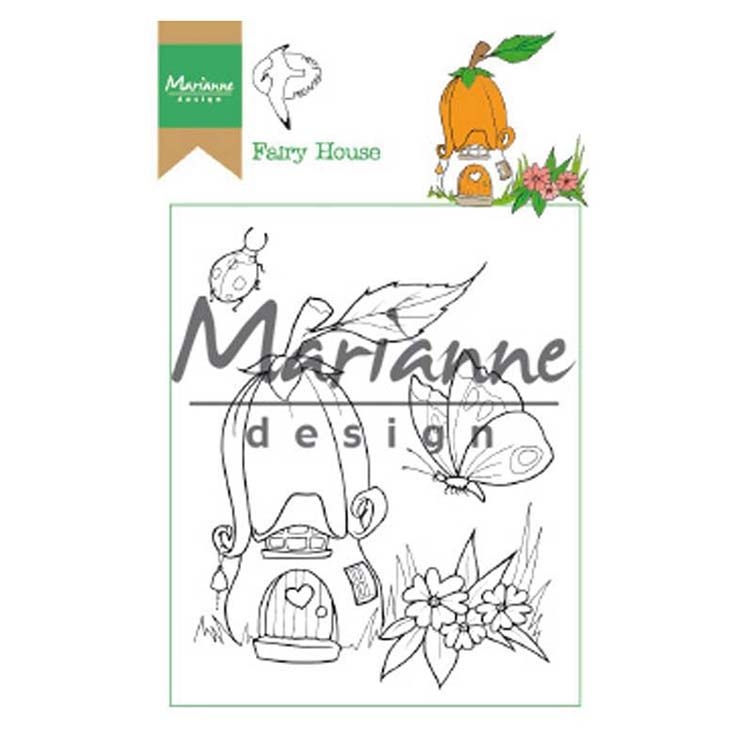 Marianne Design Stamps Hetty's Fairy House